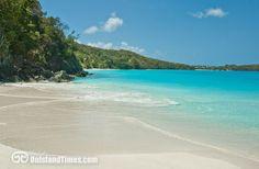 Hawksnest Bay on Saint John, US Virgin Islands.