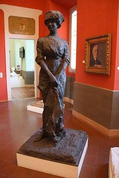 Paolo Troubetzkoy (1866-1938). 'My wife' Портрет жены (ca. 1911). Verbania-Pallanza, Italy.