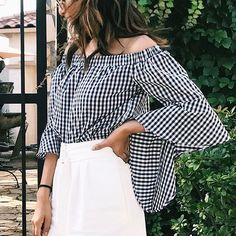 "3,842 Likes, 10 Comments - Charlotte Russe (@charlotterusse) on Instagram: ""That gingham. 🔥🔥🔥 via @lovelikelily #CRItsOn"""