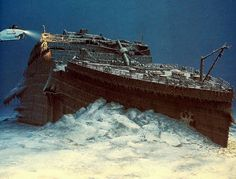15 Jaw Dropping Titanic Facts You Won't Believe - Page 13 of 15 - World History Magazine Titanic Wreck, Rms Titanic, Titanic Poster, Bottom Of The Ocean, History Magazine, Yacht Boat, Shipwreck, Another World, World History