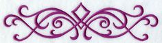 Machine Embroidery Designs at Embroidery Library! - Simple Swirls Border 1