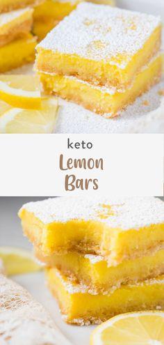 Sugar Free Cookies, Lemon Cookies, Sugar Free Desserts, Lemon Desserts, Lemon Recipes, Chip Cookies, Just Desserts, Healthy Recipes, Ketogenic Desserts