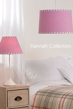 Hannah Lavender Table Lamp and Pendant Shade Pastel Interior, Pastels, Floor Lamp, Lavender, Table Lamp, Bulb, Shades, Collections, Interior Design