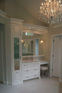 Breyette Kitchens, Steve Breyette, Vanity Designed, Elegant Wood, Master  Bath Vanity, Design Master, Wood Design, Bath Vanities, Kitchen Cabinet
