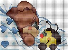 Cross Stitch Baby, Cross Stitch Animals, Cross Stitch Charts, Cross Stitch Embroidery, Cross Stitch Patterns, Pixel Crochet Blanket, Baby Chart, Animal Crackers, Different Patterns