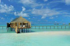 Le Water Villa del Constance Moofushi Resort alle Maldive