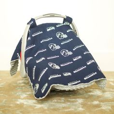 Seattle Seahawks Baby Gear Infant Carseat Canopy Cover NFL Licensed & Tampa Bay Buccaneers Baby Gear: Infant Carseat Canopy Cover NFL ...