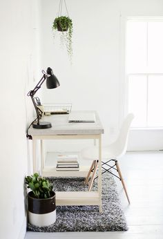 How To: Make a Modern Concrete Desk from Scratch » Curbly | DIY Design Community