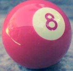 Pink 8 Ball