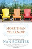 More Than You Know Nan Rossiter Book Club favorite