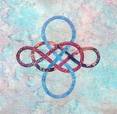 This is the Earth knot from my Celtic & More pattern, Could It Be Magic?  The pattern is $9usd from www.ScarlettRose.com