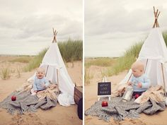 outdoor baby beach session with tee pee - can't wait till mine turns up!