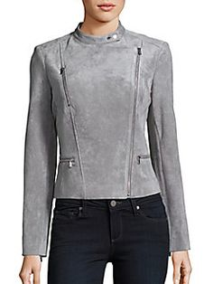 Calvin Klein Collection - Long Sleeve Zipper Jacket