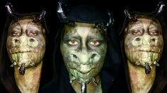 The dragon makeup  Hello everybody, Vi siete mai chiesti come può essere un animale mitologico? In particolare un drago? E se ci fossero draghi umanoidi? Come sarebbero? Questa è la mia proposta, maglio, la mia versione di un drago. Se volete vedere di più amate sul mio canale per vedere il video. Se vi piace il mio lavoro lasciate un like 👍 ed iscrivetevi ✌ #makeuptutorial #dragon #green #eyes #horns #hopeyoulikeit #likeit #subscribe #enjoy