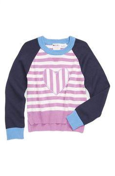 Roxy 'Hear It Loud' Stripe Sweater