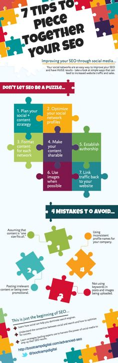 7 Social Media Tips to Boost Your SEO [Infographic]