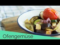(Rezept) Ofengemüse mit Tofu - YouTube