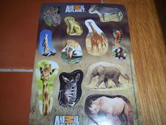 Animal Planet Stickers