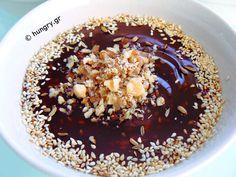 Kitchen Stories: Grape Must Pudding-Moustalevria