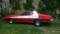 Sweet Torino Grand Torino, Movie Cars, Ford Torino, Best Muscle Cars, Ford Classic Cars, Old Fords, Car Ford, Nice Cars, Car Stuff