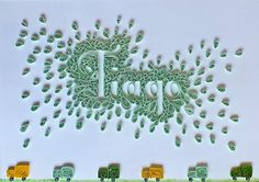 Quilled Nursery Decor | Created by Gina Palha. Blogged: www.… | Flickr