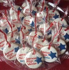 America Ninja Warrior Sugar Cookie Party by LaurasCreativeCookie