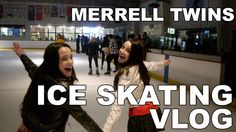 Ice Skating VLOG - Merrell Twins