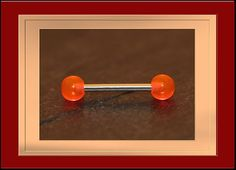 Zungen Piercing,Brust Piercing,13mm,15mm