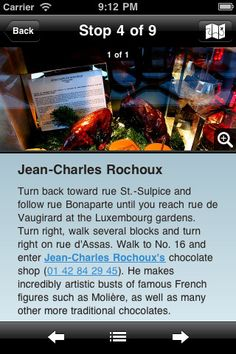 girls guide to paris food walk app