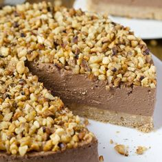 No bake Nutella Cheesecake that's quick but decadent at the same time.
