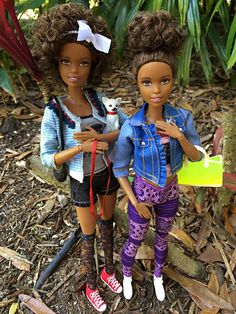 """Made to Move Barbie"" by Laila X Black Barbie, Barbie I, Barbie Dream, Barbie World, Barbie And Ken, Barbie Clothes, African American Dolls, American Girl, American Fashion"
