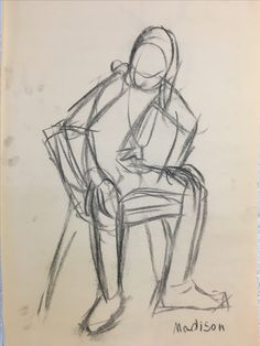 Gesture drawing by Madison