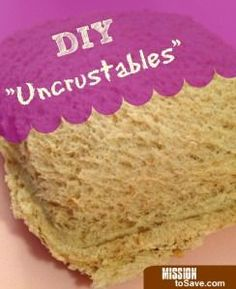 DIY Homemade Uncrustables Sandwiches - Mission: to Save