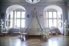 Frederiksborg Palace interior (Frederiksborg Slot) in Hillerød, Denmark.