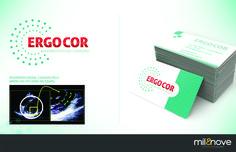 Criação de marca e material impresso para a Ergocor.