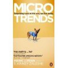 Microtrends is the story of the small groups that are causing big changes in our lives today.