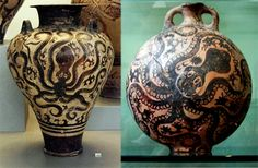 The octopus was a recurring theme in the art of ancient Minoan Crete
