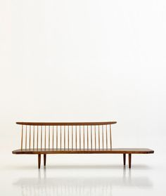 danish wood bench //