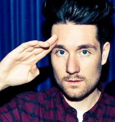 Dan Smith. I think Dan looks older in this photo, I don't know if it's he has his hair longer or the pic make it look like that