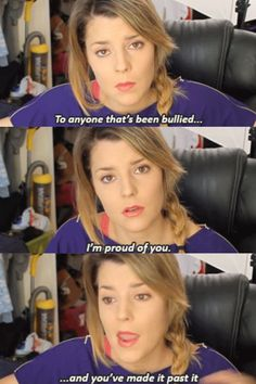 Grace talks about bullies