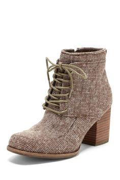 Matisse Cliff Lace-Up Bootie #Cute dress!#love this outfit.#