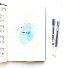 A simple but cute look for January! - Stressing over midterms this week, sorry if I'm a bit inactive , anyone got any good studying tips? - #leuchtturm1917 #showmeyourplanner #showmeyourbujo #bulletjournaljunkies #bulletjournalweekly #bulletjournal #bulletjournaling #bulletjournallove #bujo #bujojunkie #bujospread #bujoweekly #bujojunkies #bujocollection #BulletJournalCollection #plannerpicturefeature #bulletjournalweekly #tombow #tombowdualbrushpens #weeklyspread #watercolor