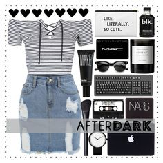 """"""\ after dark \"""" by loveenana ❤ liked on Polyvore featuring Topshop, Byredo, MAC Cosmetics, NARS Cosmetics and Make""236|236|?|en|2|43f48b0425bd4519be10228a08740aeb|False|UNLIKELY|0.3539887070655823