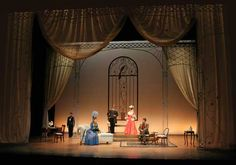 victorian interior ideas  The+Importance+of+Being+Earnest+Set+Design | The Importance of Being Earnest