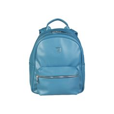 Spring / Summer Collection - Large backpack with Saffiano eco leather with adjustable shoulder straps in fabric - Zip fastening - Logo enameled metal in tone wi Notebook Sleeve, Commuter Bag, Summer Collection, Fashion Backpack, Spring Summer, Backpacks, Zip, Shoe Bag, Jeans