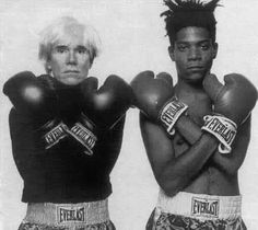Warhol and Basquiat an artistic pair