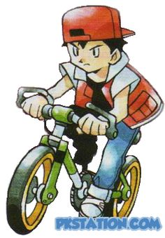 how to get a bike in pokemon blue