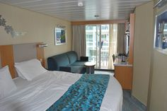 Central Park View Balcony Stateroom, Oasis of the Seas, Royal Caribbean Cruise Line