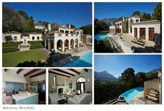 One of our breathtaking RENTAL properties in beautiful BISHOPSCOURT, Cape Town, South Africa! Click image for more info on this property! 4 Bedroom House, Rental Property, Cape Town, Renting A House, South Africa, Mansions, Luxury, House Styles, Image