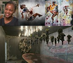 Wangechi Mutu (Kenya) The Artist and Art!